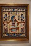Egyptian needlepoint picture